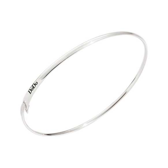 Bracciale Dodo Bangle in argento